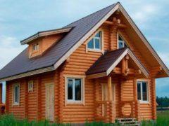 Дом из бревна 100,2м