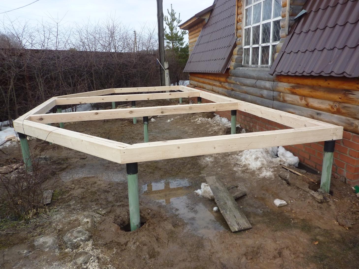 Фундамент для дачного дома: технология строительства 98