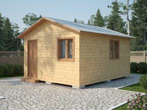 Каркасный садовый домик 5х4м