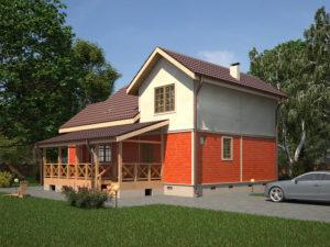Каркасный дома 175,0м