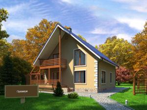 Каркасный дома 181,1м