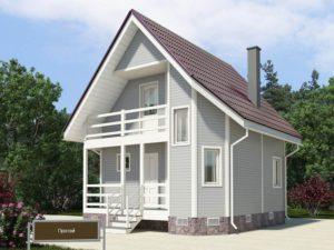 Каркасный дом 66,0м