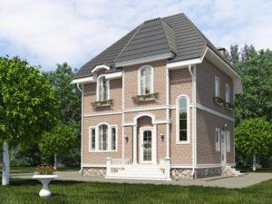 Каркасный дом 99,1м