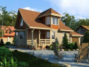 Каркасный дом 145,1м