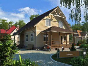 Каркасный дом 148,0м