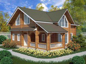 Дом из бруса 161м