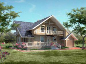 Дом из бруса 193,2м
