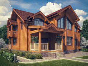 Дом из бруса 235,1м