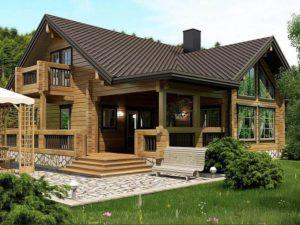 Дом из бруса 211,6м