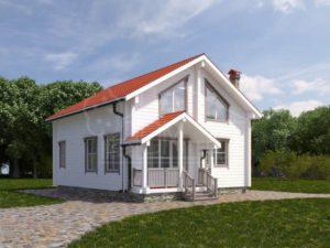 Дом из бруса 160м