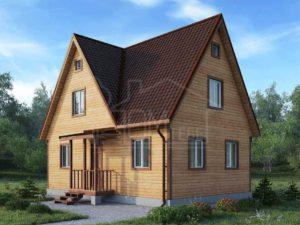 Каркасный дом 90,6м