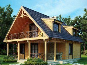 Каркасный дом 108м