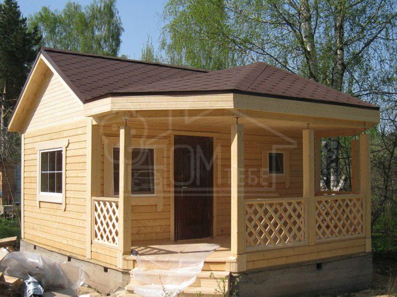 Садовый домик 25м