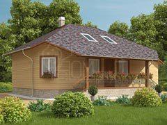 Каркасный дом 119м