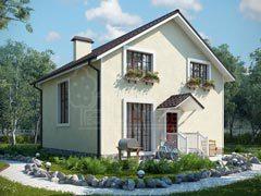 Каркасный дом 125м