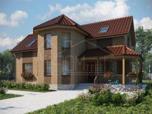 Каркасный дом 159м