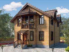 Каркасный дом 120м