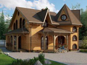 Каркасный дом 156м