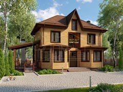 Каркасный дом 111м