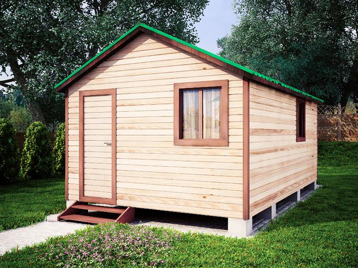 Садовый домик 3.8x6м