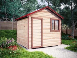 Садовый домик 3х3м