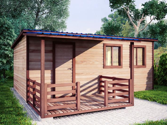 Садовый домик 4х6м