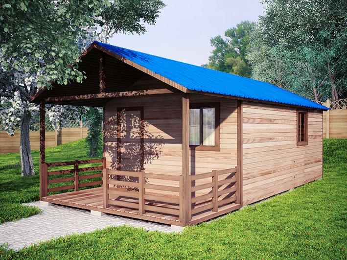 Садовый домик 4х8м