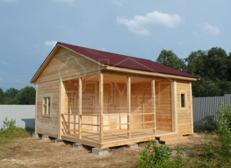 Садовый домик 5х5м