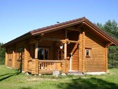 Дом-баня из бревна 66,2м