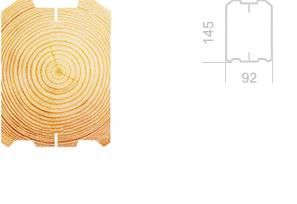 Профилированный брус 100х150мм