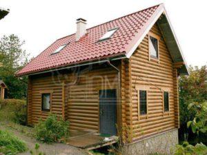 Дом из бревна 6х8м