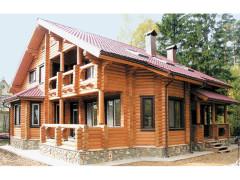 Дом из бревна 233м