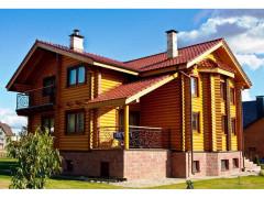 Дом из бревна 281м