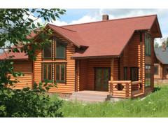 Дом из бревна 250м