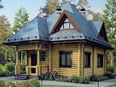 Дом из бревна 126,9м