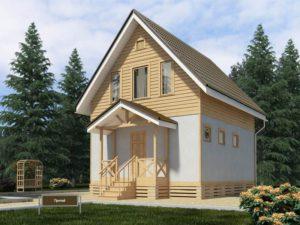 Каркасный дом 70,0м