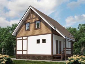 Каркасный дом 99,2м
