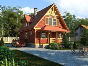 Каркасный дом 120,0м