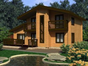 Дом из бруса 211,4м