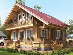 Дом из бруса 206,5м