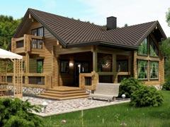 Дом из бревна 255,2м