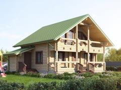 Дом из бревна 67м