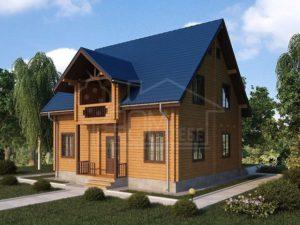 Дом из бруса 140,4м