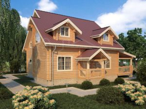 Дом из бруса 205,8м