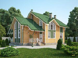 Дом из бруса 170м