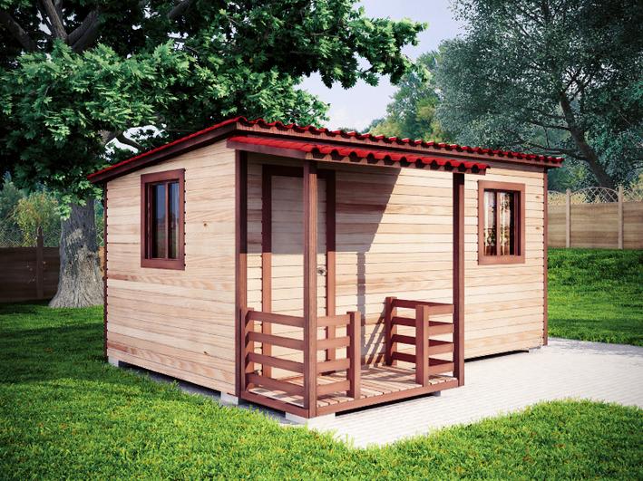 Садовый домик 3х5м