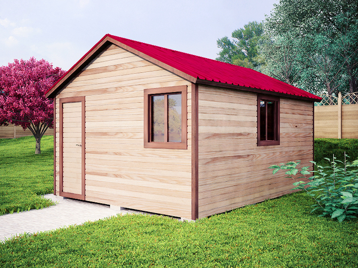 Садовый домик 4х5м