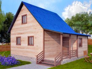 Садовый домик 6х8м