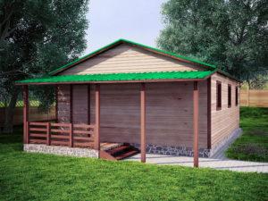 Садовый домик 6х9м
