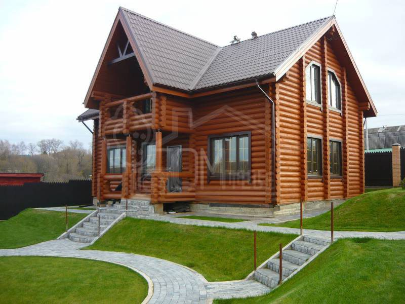 Дом из бревна 9х12м